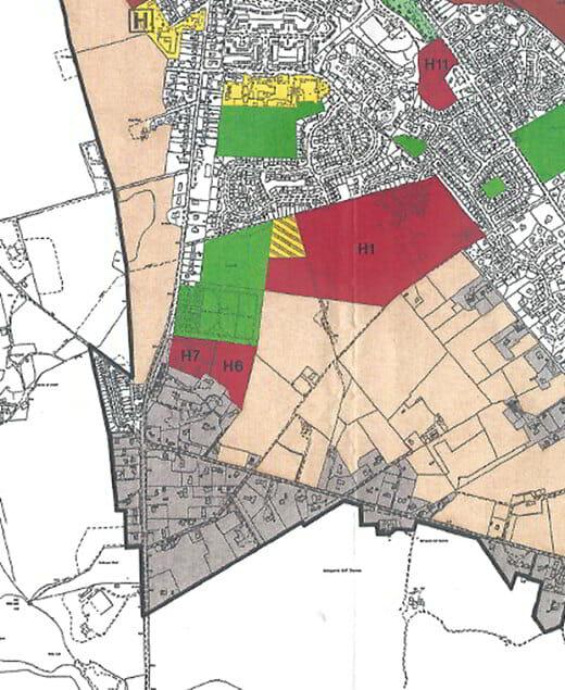 Selling Land Plan